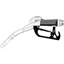 [ZVA2 ...0 R] Кран раздаточный с поворотной муфтой, носик ?16мм, скоба без магнита