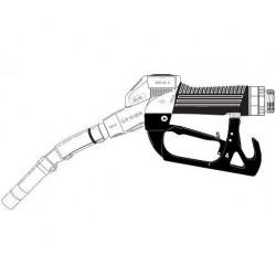 [ZVA2 ?M.0 RU] Кран раздаточный с поворотной муфтой, носик ?16мм отломной, скоба с магнитом