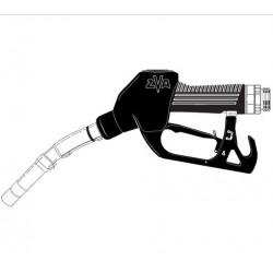 [ZVA2....0 RU SSB] Кран раздаточный с поворотно-разрывной муфтой, носик ?16мм отломной, скоба без магнита
